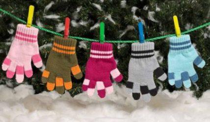 Способы измерить и определить размер детских перчаток