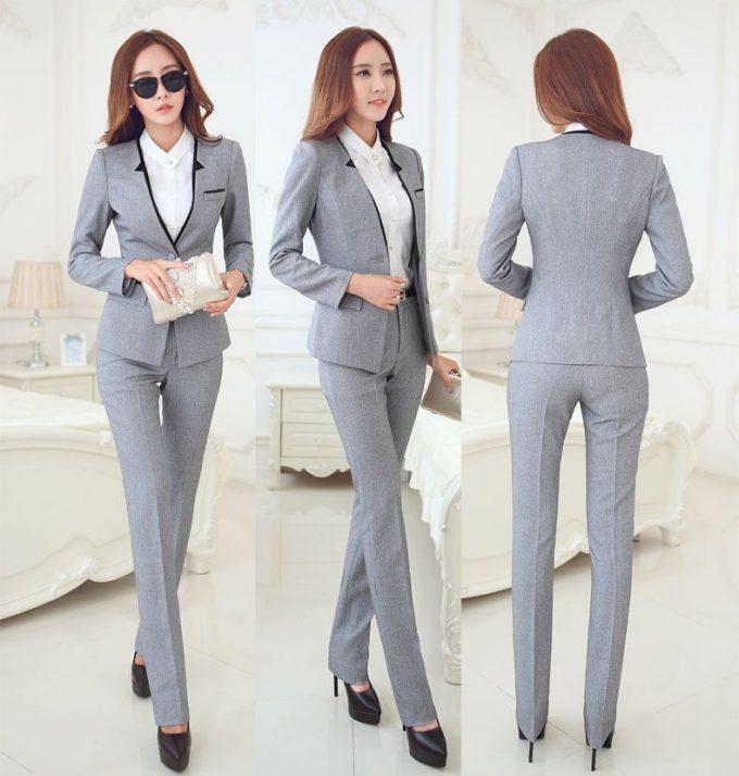 как выбрать женский деловой костюм