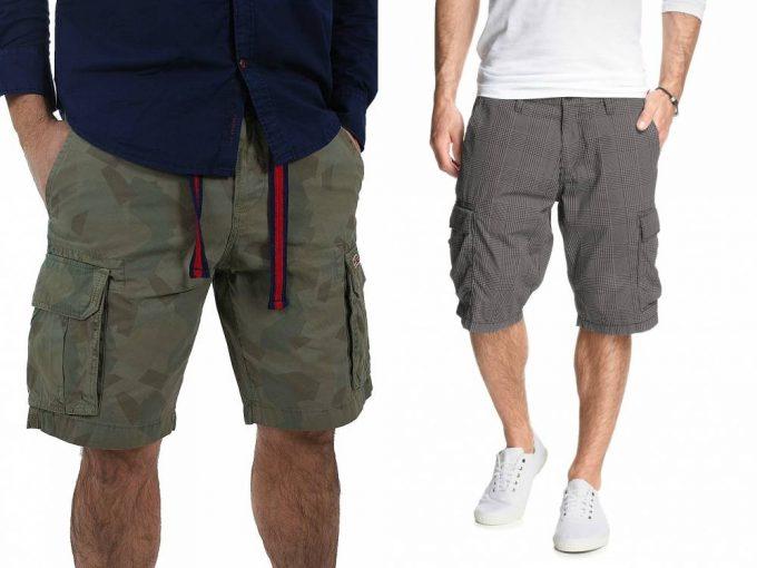 мужские шорты бермуды