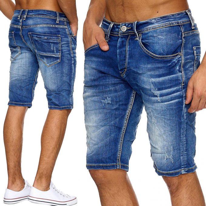 фото джинсовой модели шорт