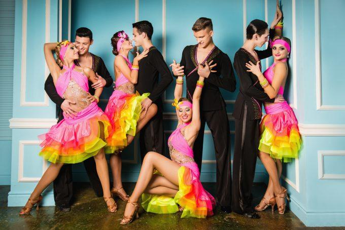 одежда для латинских танцев