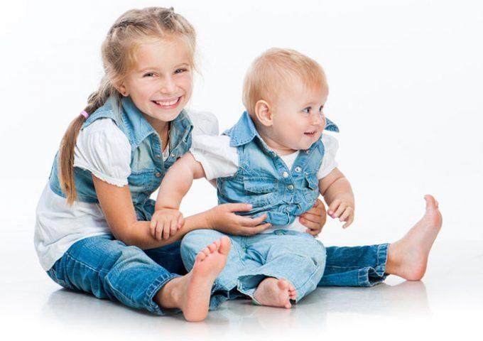 размер джинсов для детей
