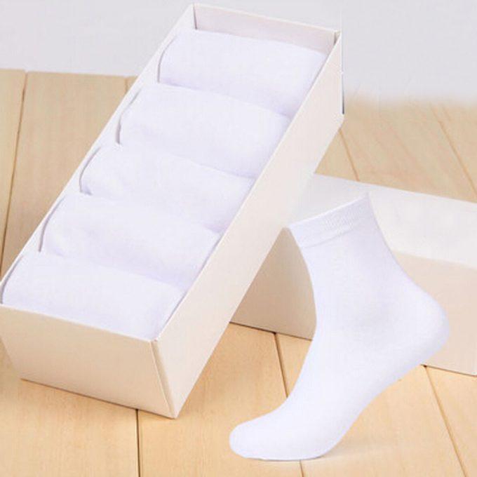 белые носки для фитнеса