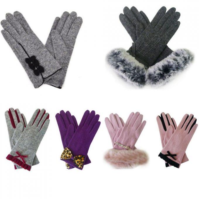 фото демисезонных перчаток