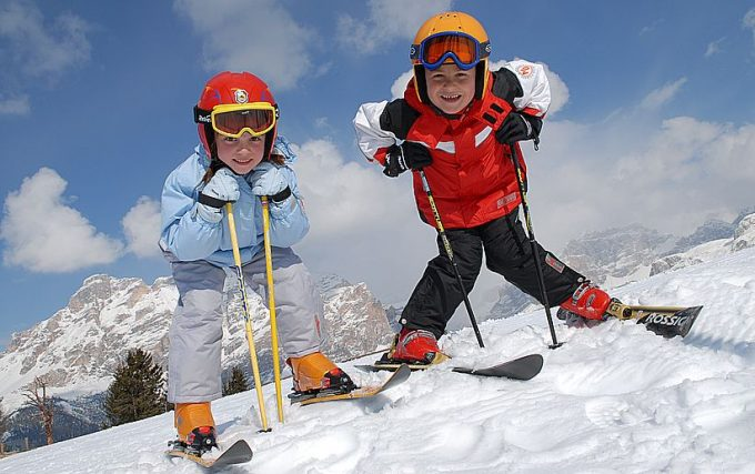 как подобрать лыжи для детей