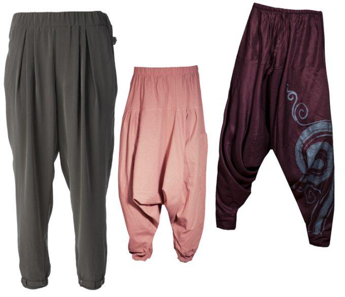 восточный тип брюк