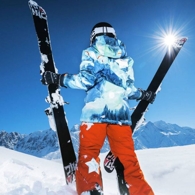 костюм для катания на горных лыжах