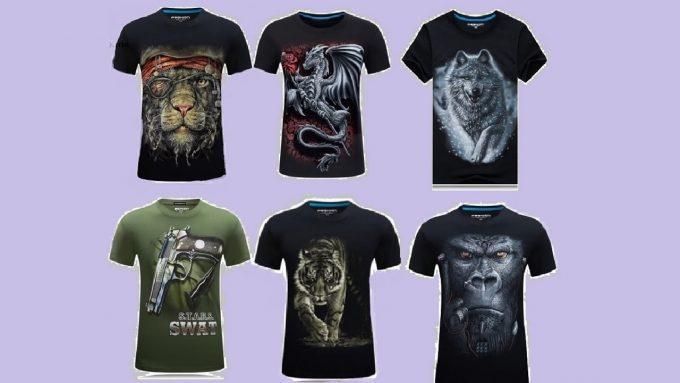 большой выбор футболок на сайте