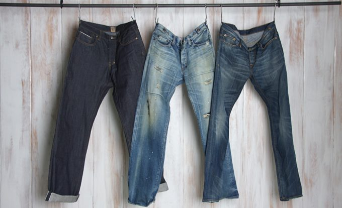 джинсы японской фирмы evisu