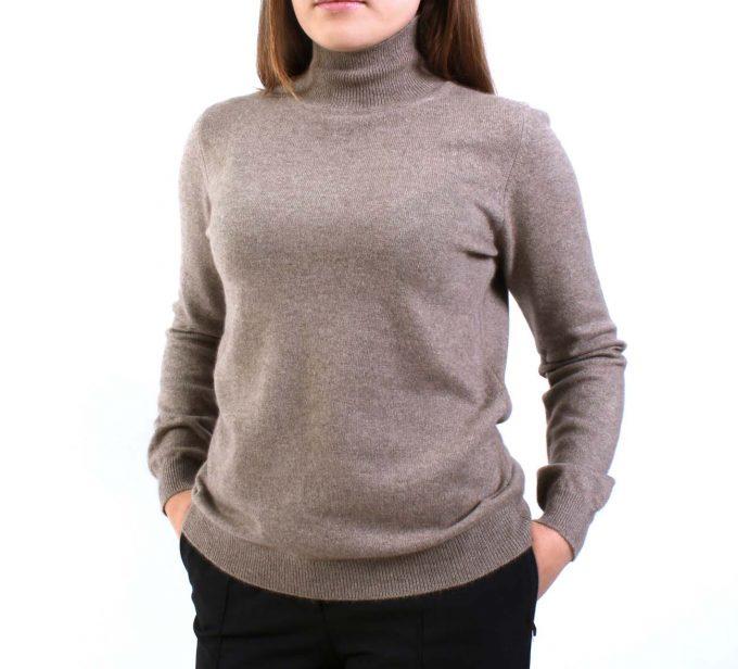 тёплый свитер из кашемира