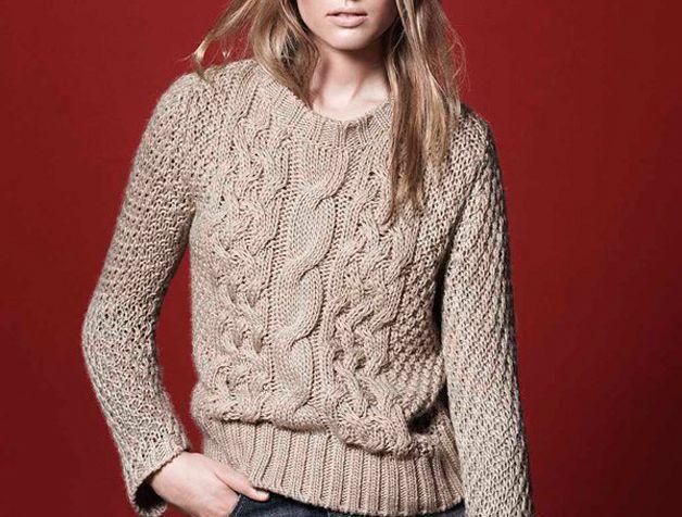 синтетический свитер