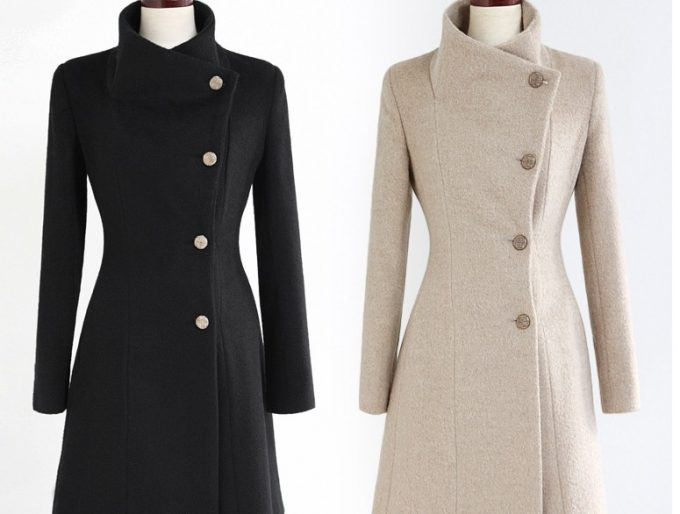 приталенные пальто для всех типов фигур