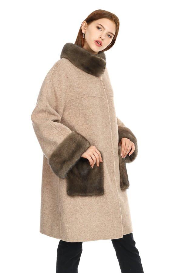 фото пальто с накладными карманами