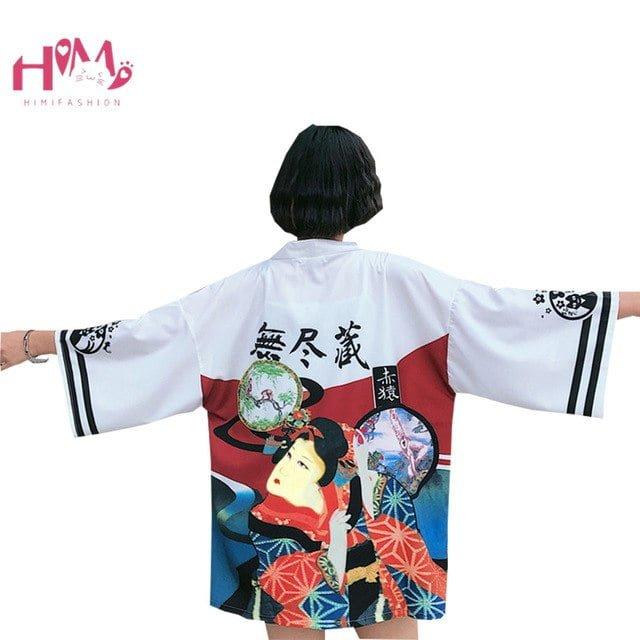бесформенный японский наряд
