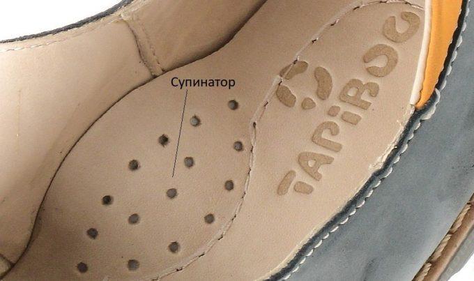 выбор супинатора на обуви