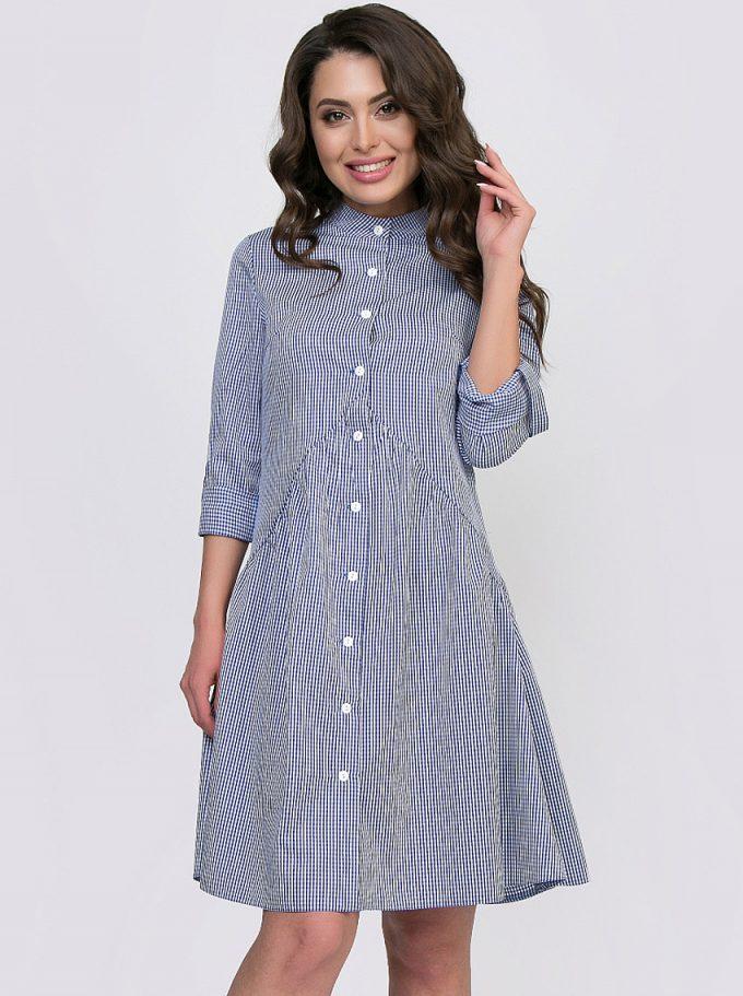 платье по типу халата