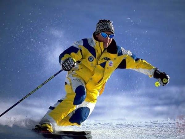 костюм для зимних видов спорта