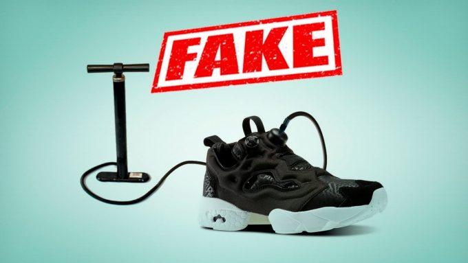 Чем отличаются кроссовки Reebok от поддельных