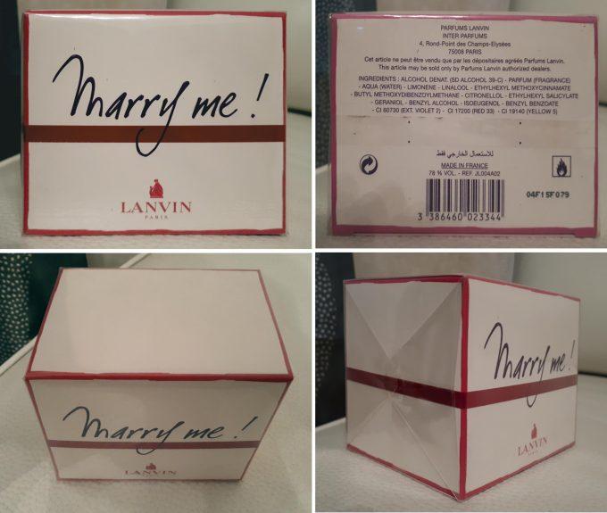 плотно упакованная плёнкой коробка
