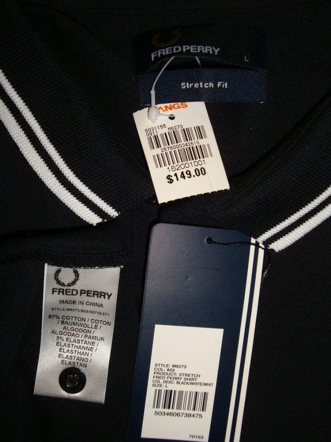 фирменный ярлык одежды