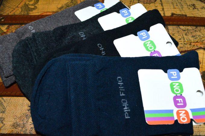 большое разнообразие носков