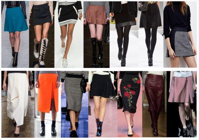 виды юбок и какую выбрать