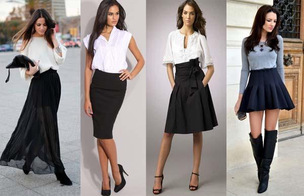 какой длины одеть юбку для своего комфорта