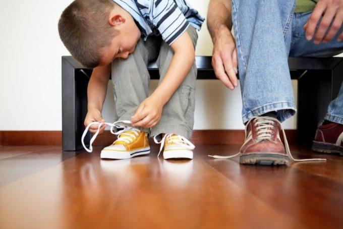 как выбрать обувь самому маленькому ребёнку
