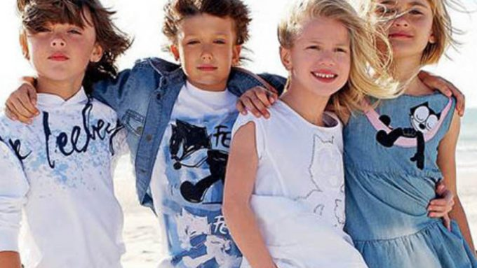 выбор европейской одежды для детей