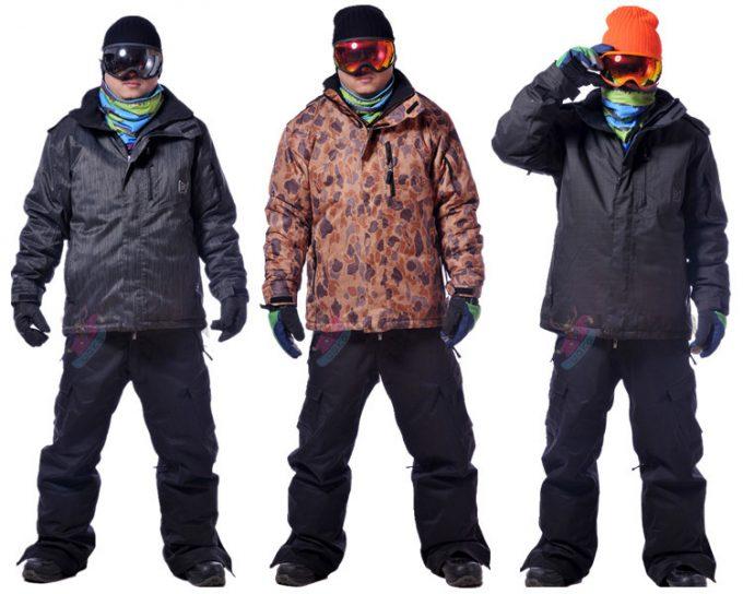 костюмы для сноуборда