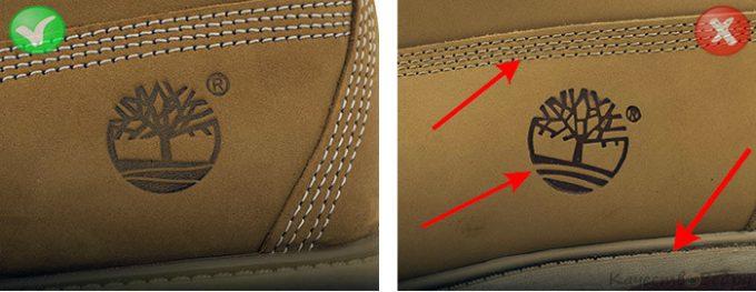 Стельки и логотипы ботинок Timberland