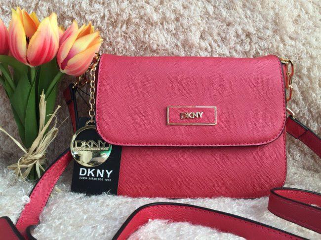 розовая сумка от Донны Каран