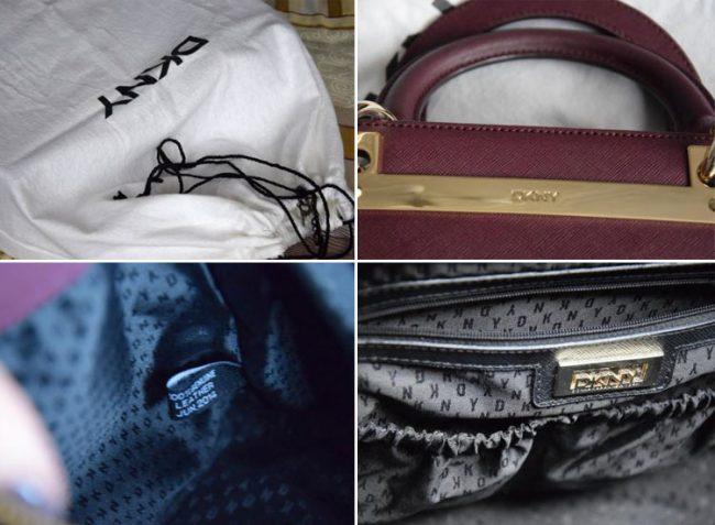 проверяем на оригинальность сумку от DKNY