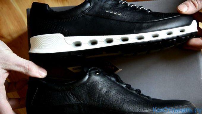 вес обуви ессо