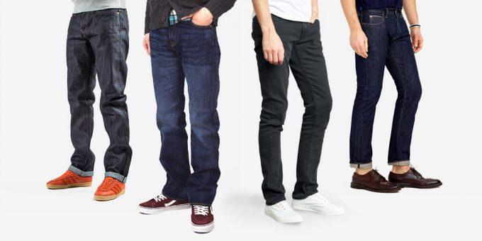 откуда идут корни джинсов