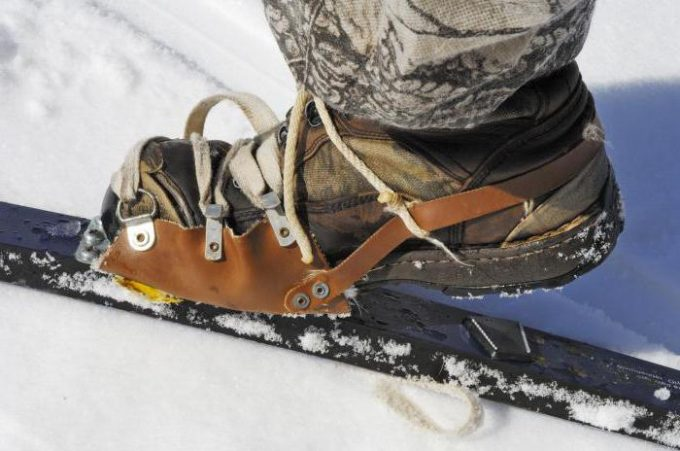 крепление для лыж
