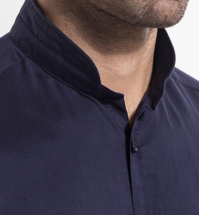 рубашка в стиле мао