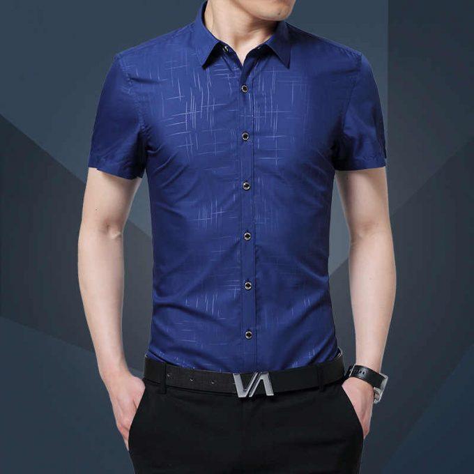 обтягивающия рубашка для молодёжи