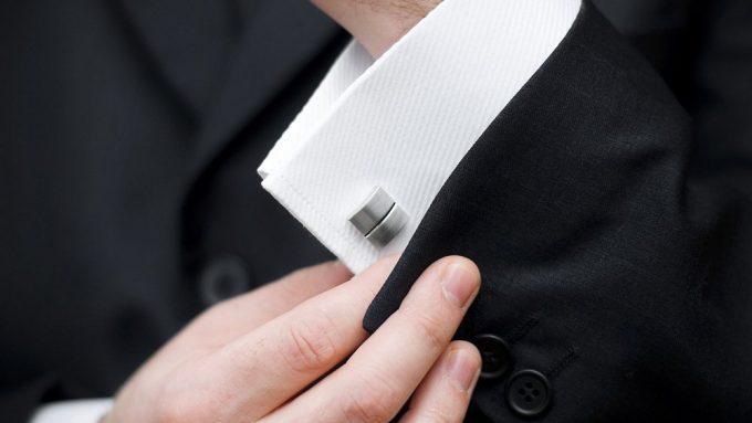 французская манжета для джентльменов
