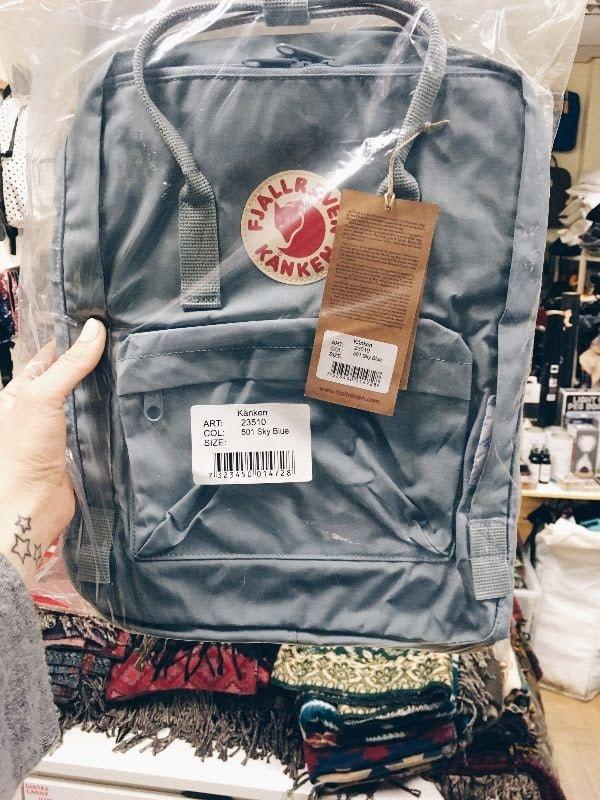 не настоящая упаковка рюкзака Канкен