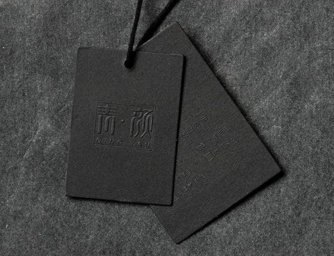 бирка с иероглифами