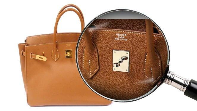 Как отличить подделку сумок Гермес