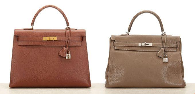Размеры сумок Hermes