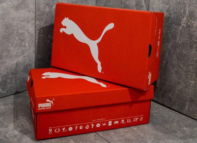 Настоящая коробка для кроссовок Puma