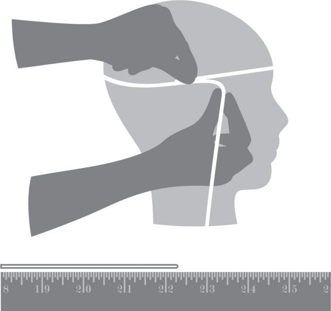 снятие мерок и размеры