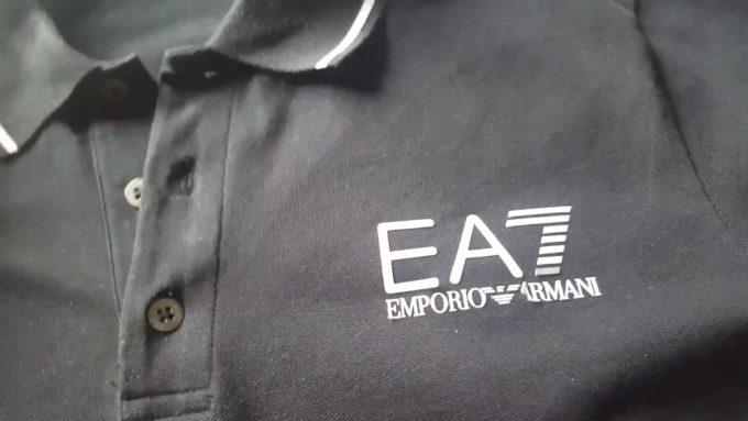 логотип фирмы armani