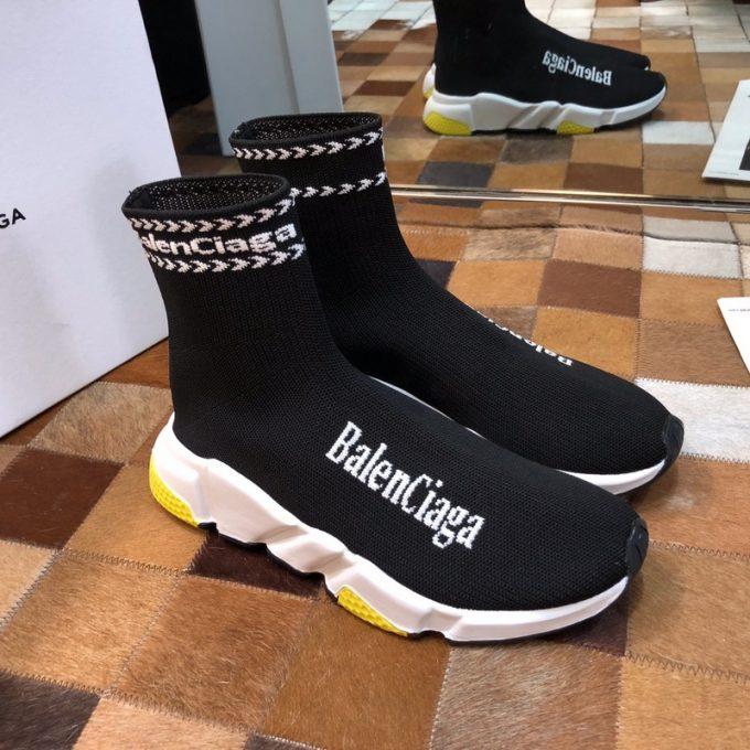 внешний вид и вес кроссовок balenciaga