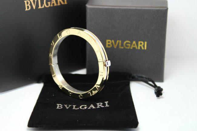 настоящее кольцо Bulgari