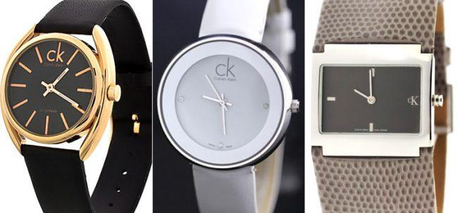 фирменный знак CK на часах Calvin Klein