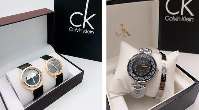 часы Кельвин Кляйн в фирменной коробке